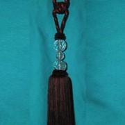 Кисть для штор темная со стеклом 2008-26 К 53 фото
