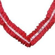 Лента на авто шелковая красная Волна 3м фото