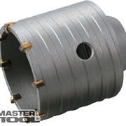 Сверло корончатое для бетона 50 мм 6 зубцов GRANITE Mastertool 2-08-050 фото
