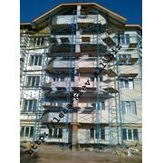 Аренда строительных лесов Киев 96 м.кв. 12х8 фото