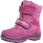 352162-41 бордовый ботинки малодетско-дошкольные нат. кожа Р-р 25 фото