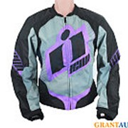 Мото куртка Icon Overlord женская пурпурная S фото