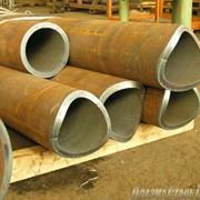 Резка стальных труб фото