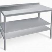 Столы металлические изготовим фото