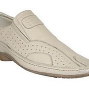Туфли мужские модель: 8-05-085 (белые) фото