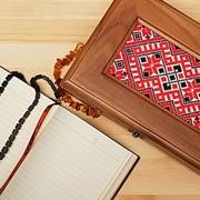 Декоративная шкатулка из дерева фото