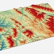 Побудова цифрових моделей рельєфу фото