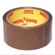 Клейкая лента (скотч упаковочный) 50мм*60м коричневая 45 мкм,Klebebander. фото