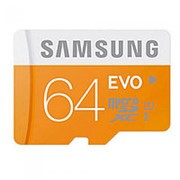 Карта памяти Samsung MicroSDXC 64GB class 10 фото
