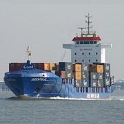Международные контейнерные перевозки. фото