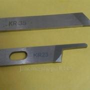 Нож для промышленного оверлога комплект KR 35, KR 23 фото