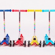 Самокат трехколесный Moove&amp-Fun Mini PU фото
