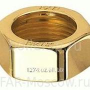 Гайка 3/4 для одно- или двутрубных угловых узлов LadyFAR, золото, артикул FL 0366 фото
