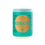 Kallos. Крем-маска для волос с кератином и экстрактом молочного протеина, 1000 мл. фото