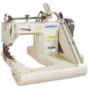 Швейная машина двухигольная шов в замок П-образная фото