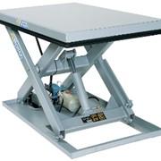 Гидравлические подъемные столы фото