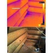 Тепловизионное обследование, тепловизор, диагностика фото