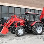 Экскаватор погрузчик на базе трактора Беларус-92П (ЭО-2101) фото