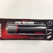 Батарейка Ansmann Alkaline AA 1.5V 1 шт (1512-0021) фото