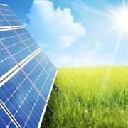 Солнечные панели , электростанции фото