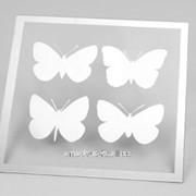 Зеркало с бабочками фото