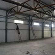 Каркас рабочего помещения, каркасные металлоконструкции под заказ фото