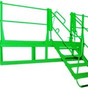 Мостик переходной универсальный МПУ (лестница-трап) фото