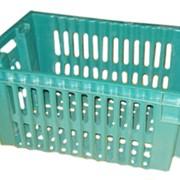 Ящик для овощей пластмассовый 63*38*28 см фото