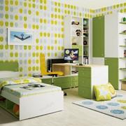 Коллекция мебели для детских комнат СОЛНЕЧНЫЙ ГОРОД (из 8 предметов) фото