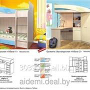 Детская кровать Адель (фабрика Олмеко, Россия) фото