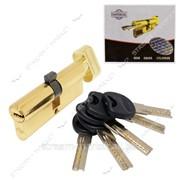 Секрет латунный Imperial СК80 (40/40) (лазер, ключ/повор, золото) (5 ключей) (CK80 40/40РВ) №329568 фото