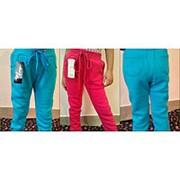 Теплые спортивные брюки для девочки (разные цвета) фото