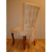 Услуги по дизайну по пошиву скатертей, салфеток, штор, гардин, ламбрекенов, чехлов на стулья для кафе, ресторанов, организаций. фото