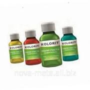 Колер паста для колеровки водно-дисперсионных и масляных красок 0,1 л ТМ Kolorit красно-черный фото
