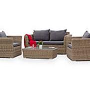 Комплект плетеной мебели 4sis YH-C2130W-3, YH-C1130W-3, YH-S4133W фото