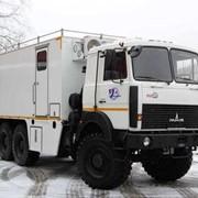 Специальная пожарная машина МАЗ 631705 фото