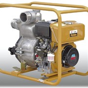 Мотопомпа дизельная для сильнозагрязненных жидкостей PTD206T фото