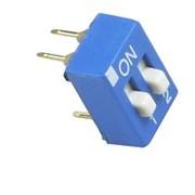 DIP переключатель 2P синий фото