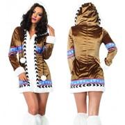 Маскарадный костюм Девушка с Северного Полюса L-83801 фото