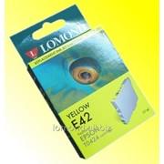 Картридж Ink T042440 E42Y for Epson Stylus C82 Yellow Lomond L0202741 фото