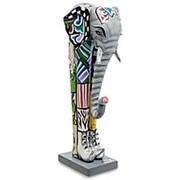 Скульптура Слон Корни 12,5х30х11,5см. арт.TG-4389 (Thomas Hoffman) фото
