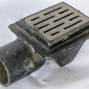 Трап с решёткой Sifon de podea L490xB125xH20 фото