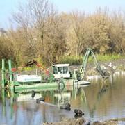Благоустройство водоемов, очистка озер фото
