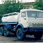 Автоцистерна пищевая КАМАЗ 43114 молоковоз / водовоз, 6х6 фото