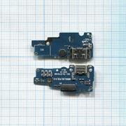 Разъем Micro USB для Asus ZenFone Go ZC500TG (плата с системным разъемом и микрофоном) фото
