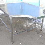 Формовочный стол 2000х1200 (усиленный) из нержавеющей стали фото
