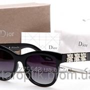 Женские солнцезащитные очки Dior 2099 - цвет черный новинка 2015 года фото