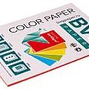 BVG Paper Бумага цветная BVG, А4, 80г, 50л/уп, красный, неон фото