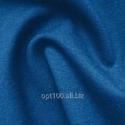 Французский трикотаж однотонный, цвет синий фото