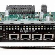 Модуль расширения D-Link DXS-3600-EM-4XT фото